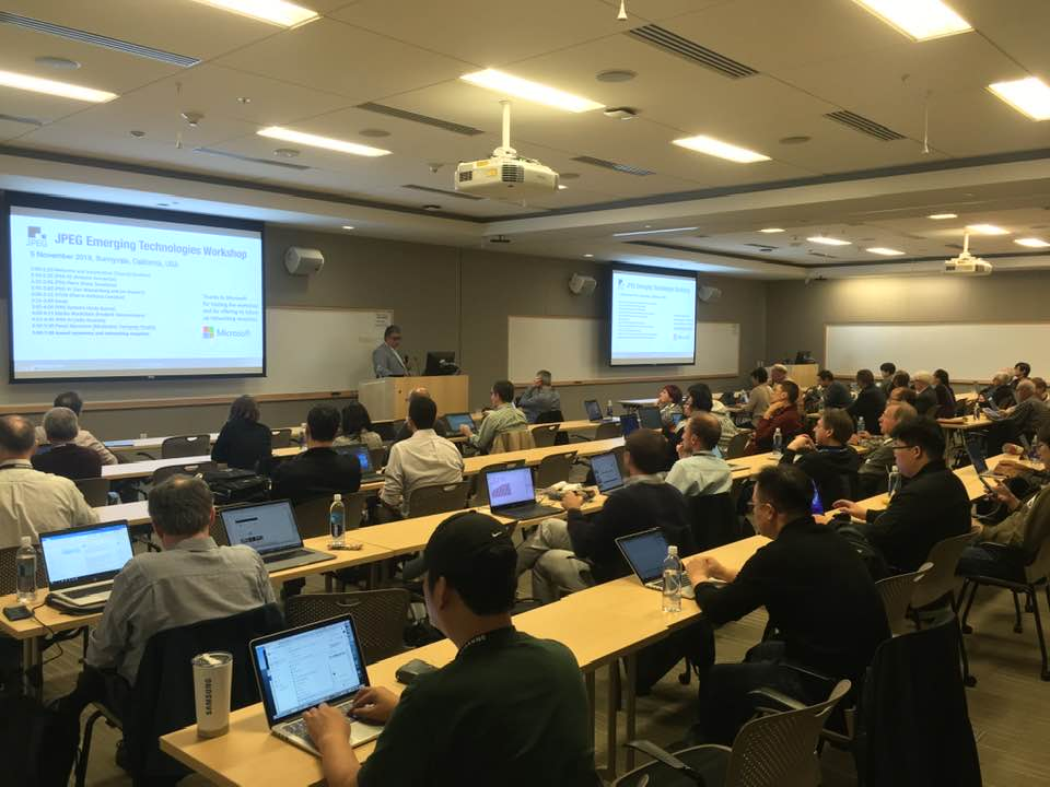 JPEG Column: 85th JPEG Meeting in San Jose, California, U.S.A.